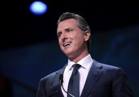 California Gov. Gavin Newsom announced guidelines allowing low-risk retail and industrial facilities to reopen starting Friday. (Gage Skidmore/Flickr)